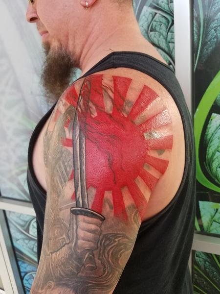 Tattoos - Red Sun Rework - 129256