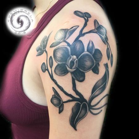 Tattoos - Orchids - 133385