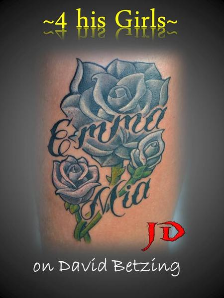 Tattoos - For his girls - 66040