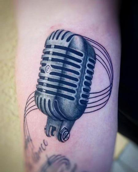 Tattoos - Microphone - 140883