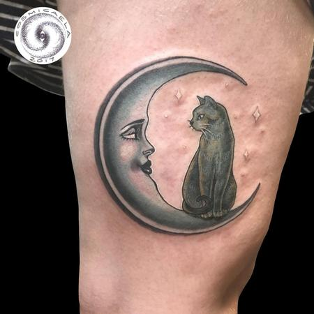 Tattoos - Cat Moon - 133390