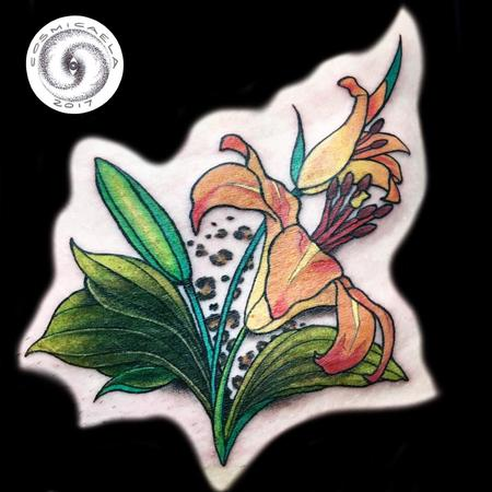 Lily Cover-up  Tattoo Thumbnail
