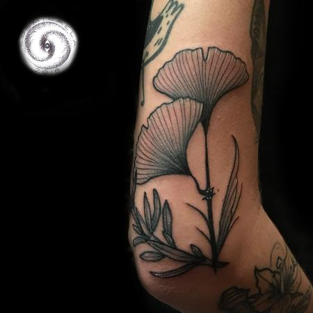 Ginkgo & Rosemary Tattoo Thumbnail