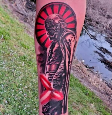 Tattoos - Kylo Ren  - 142335