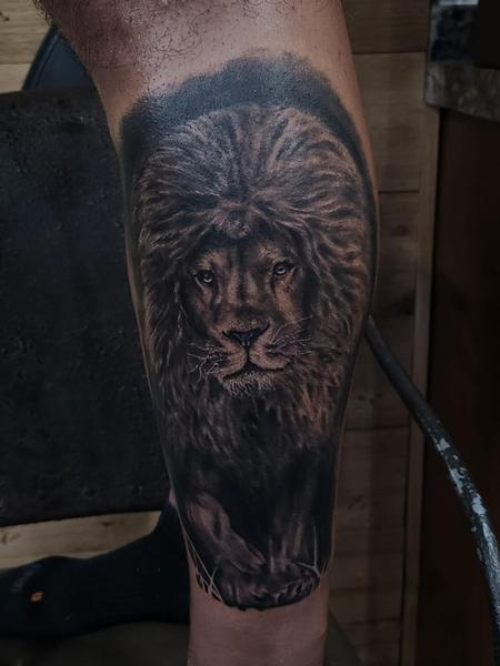 A King out of the Shadows Tattoo Thumbnail