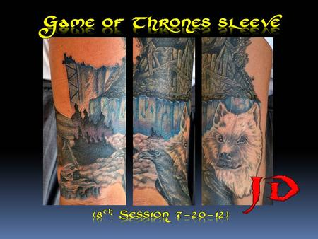 Tattoos - Game of thrones sleeve fillin - 69133