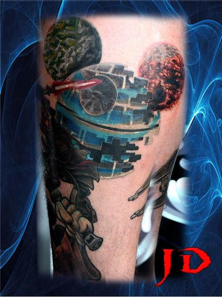 Tattoos - Deathstar rising - 71885