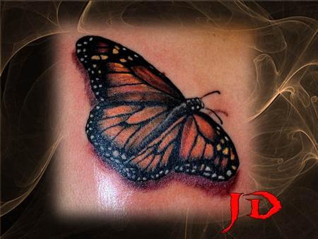 Tattoos - Monarch - 70920