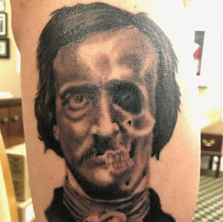 it's a poe Tattoo Thumbnail