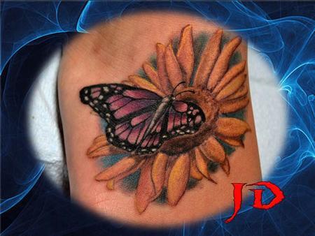 Tattoos - Sun-Fly - 70923