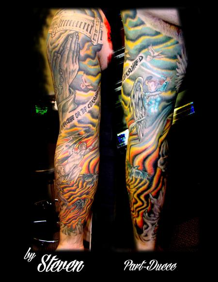 Tattoos - Good vs Evil part duece - 73962