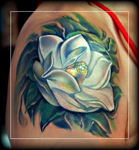 Tattoos - Magnolia grandiflora ! - 71455