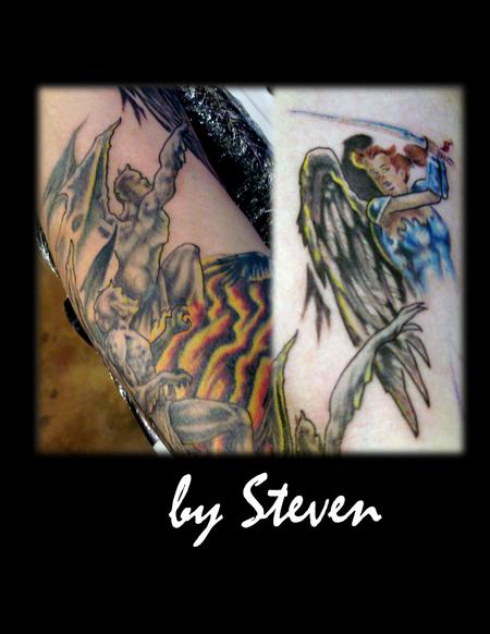 Tattoos - Angels and demons - 69364