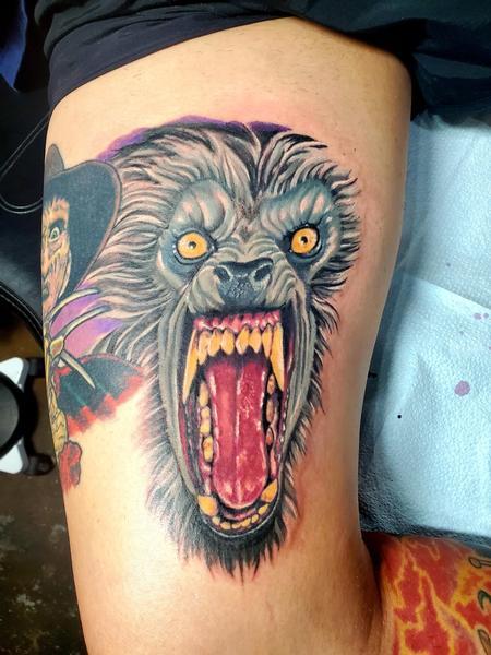 WEREWOLF Tattoo Thumbnail