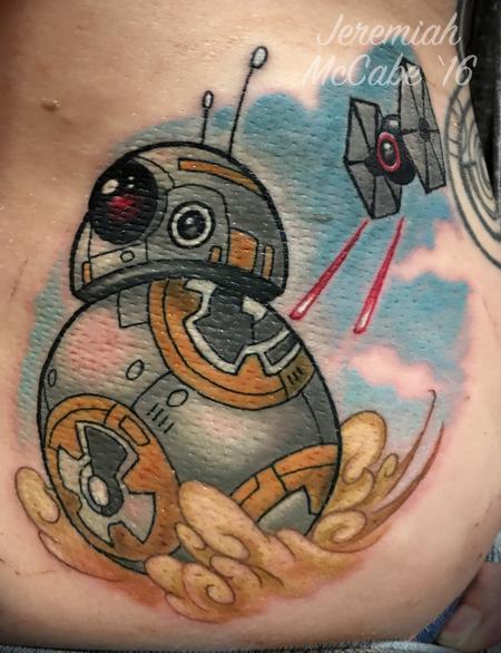Tattoos - BB-8 Color Tattoo - 117341