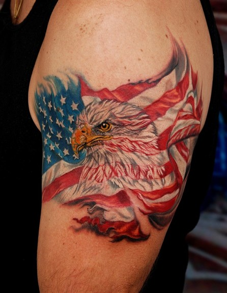 Tattoos - EagleFlag ! - 50638