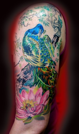 Tattoos - Peacock ! - 34823