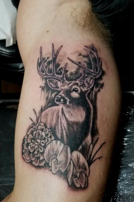 Tattoos - My Deer Family - 131978