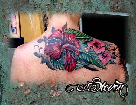 Tattoos - Exotic Flowers - 78733