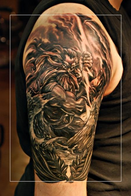 Tattoos - Power Zeus! - 71780