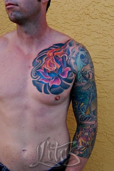 Tattoos - Fireflower - 99493