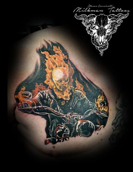 Ghost Rider Tattoo Thumbnail