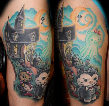 Tattoos - Haunted Hello Kitty - 87590