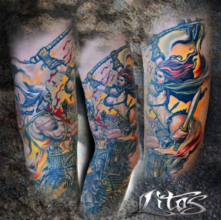 Tattoos - Fight to the Death ! - 69774