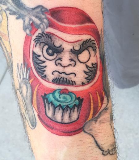 Tattoos - Daruma - 115080