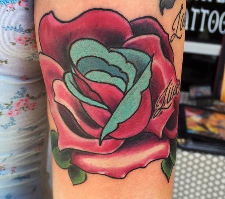 Tattoos - Rose  - 115092
