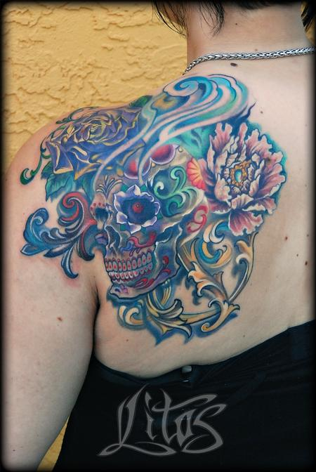 Tattoos - Ornate Skull - 95958