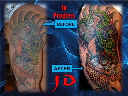 Tattoos - In progress jap - 71884