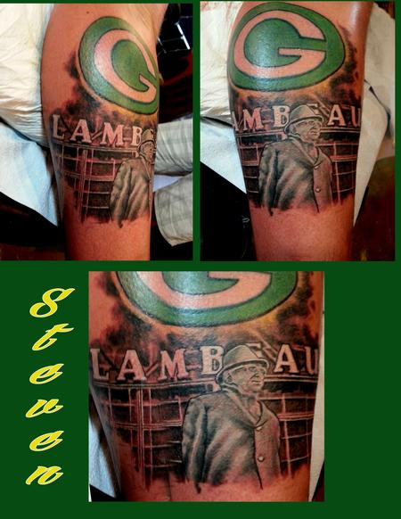 Tattoos - lambeau feild - 88894