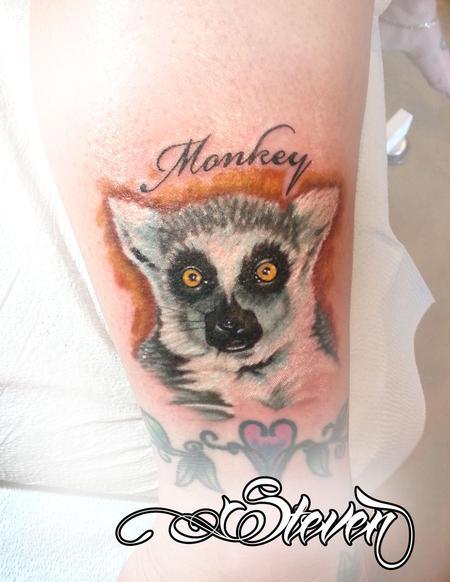 Tattoos - Lemur - 82635