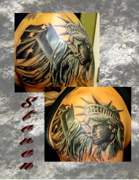 Tattoos - Liberty - 77410