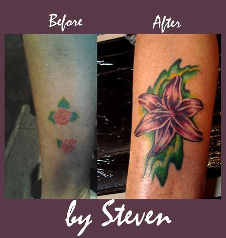 Tattoos - Lily - 70956