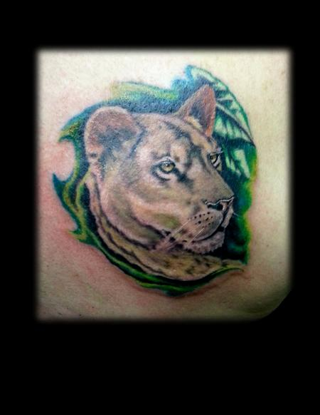 Tattoos - Lioness - 104682