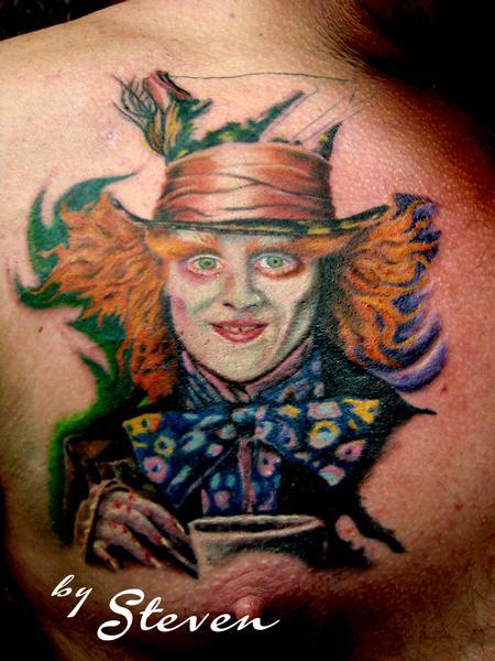Tattoos - Mad Hatter in progress.... - 73606