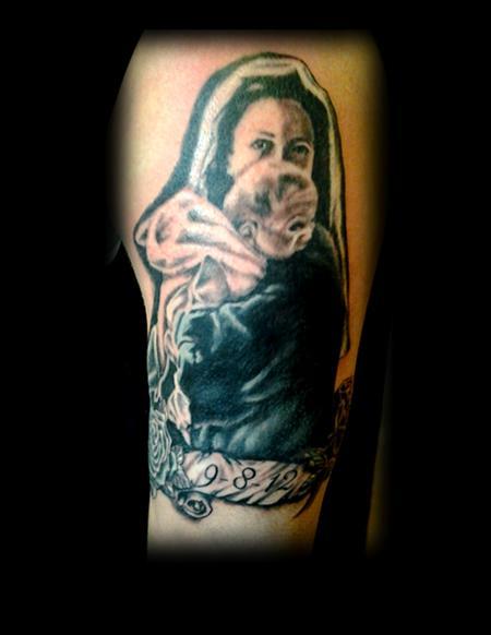 Tattoos - Mary baby - 71932