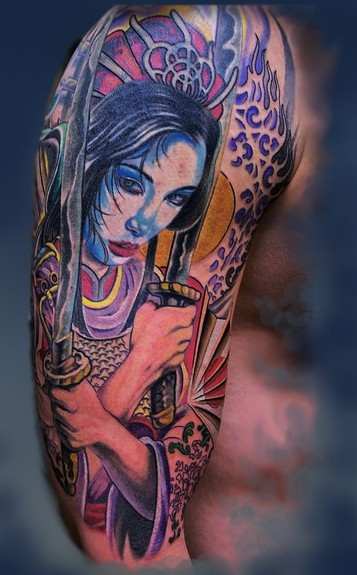 Tattoos - Samurai Geisha ! - 52304