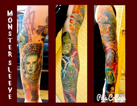 Tattoos - Monster sleeve - 126762