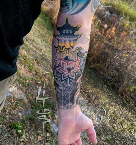 Tattoos - PAGODA - 137741