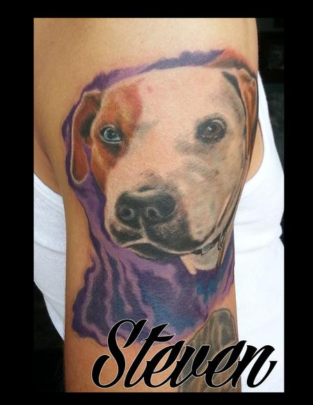 Tattoos - pitbull - 91423