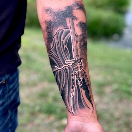 Tattoos - Lord of the Rings Reaper - 142732