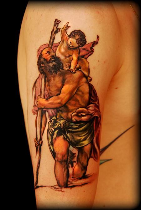 Tattoos - Saint Christopher ! - 60671