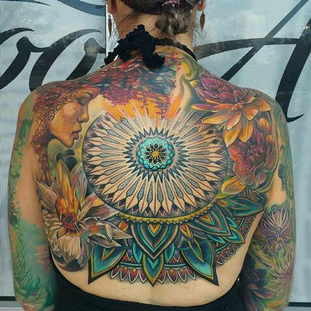 TARA BACK Tattoo Thumbnail