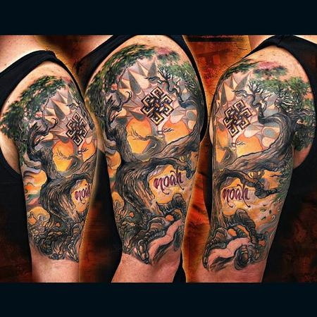 Tattoos - Bodhi Tree - 120075