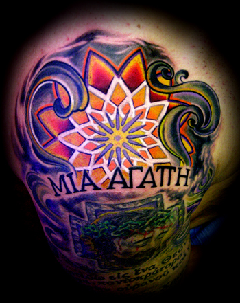 Tattoos - STAINGLASS LIGHT ! - 25162