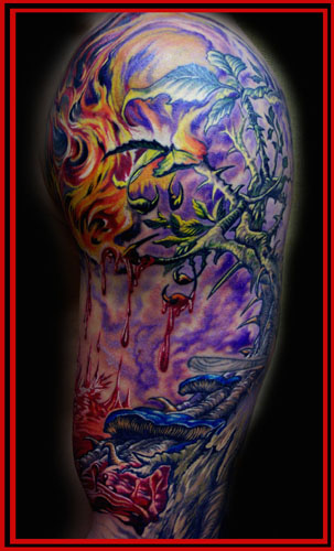 Tattoos - TREE of DEATH ! - 22540
