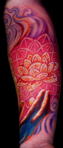 Tattoos - Hand of Buddha! - 32826